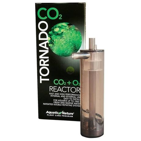 Akwarium-Dyfuzor Tornado CO2 - bezstratny reaktor CO2
