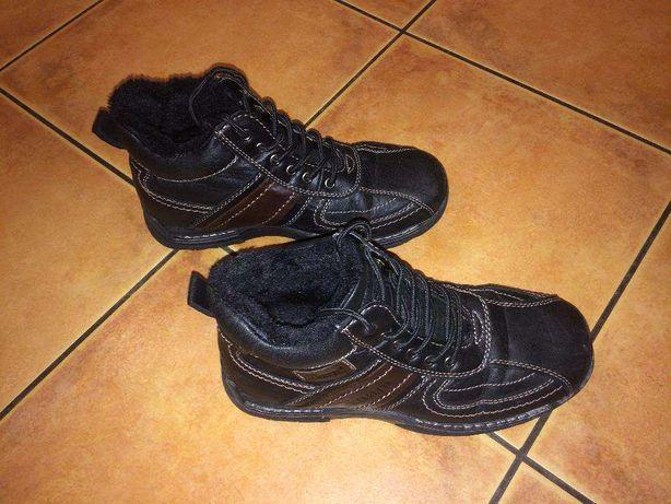 Buty ocieplane na zimę GINO LANETTI rozm. 40