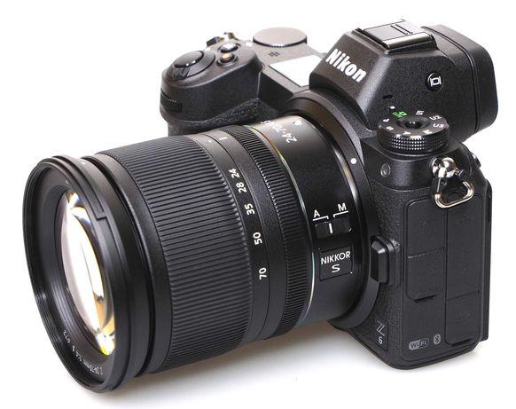 Nikon Z6 em excelente estado (lente não incluída)