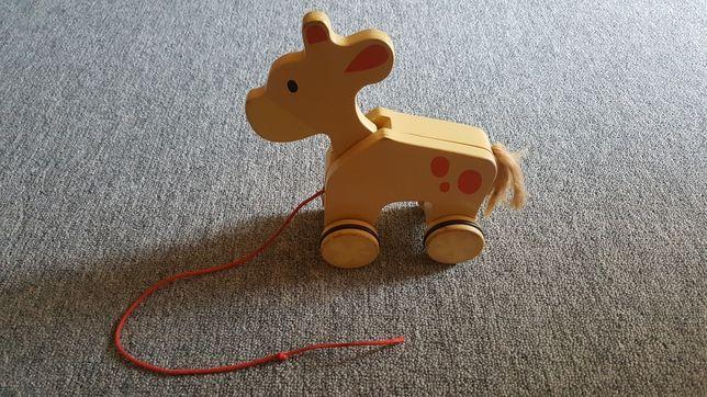 Zabawka koń na sznurku