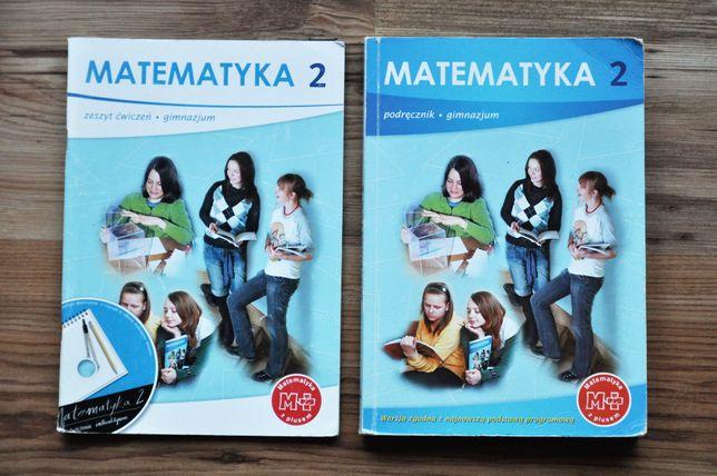 MATEMATYKA z PLUSEM 2 gimnazjum podręcznik + ćwiczenia GWO