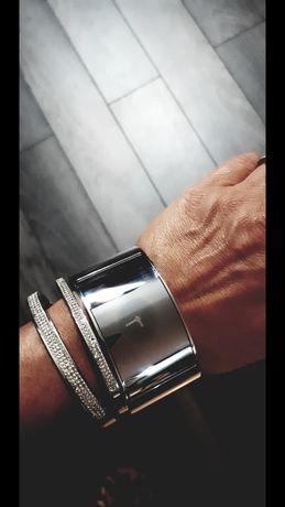 Zegarek bransoletka bransoleta Calvin Klein ck srebrny oryginalny kors