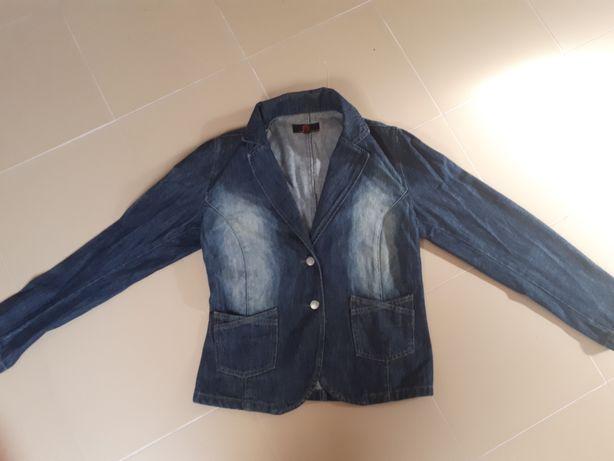 Casaco de ganga pauser jeans