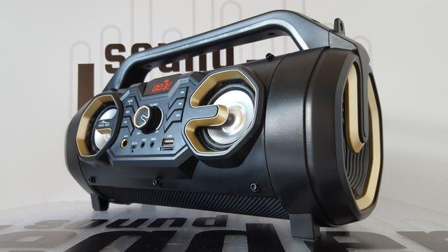 Boombox głośnik bezprzewodowy bluetooth przenośny karaoke radio