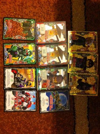 Zamienię lub sprzedam karty lego ninjago 3 seria