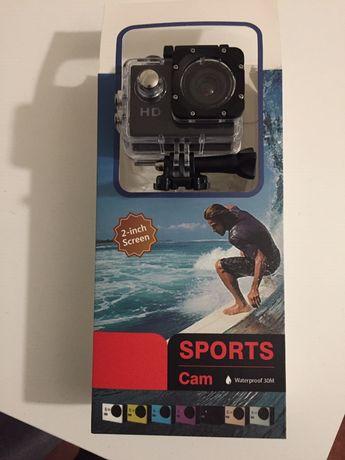 Câmara Sports Cam 720p Waterproof NOVA