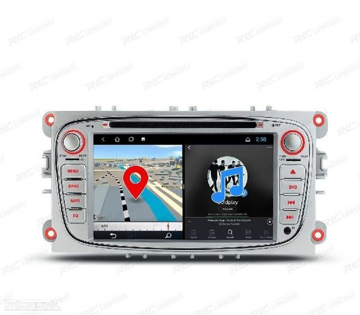 """AUTO RADIO ANDROID 10.0 GPS ECRA TACTIL 7"""" FORD"""