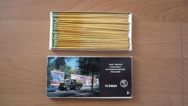 Kolekcjonerskie zapałki FSC Star Starachowice