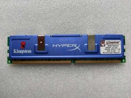 Оперативна пам'ять Kingston HyperX DDR 512MB 333MHz KHX2700/512