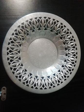 Блюдо алюминиевое Ссср