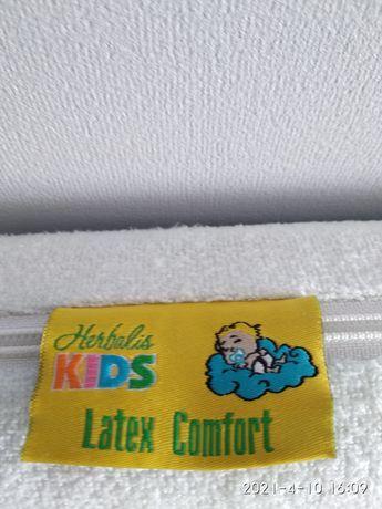 матрас детский латекс кокос Лен 120*60