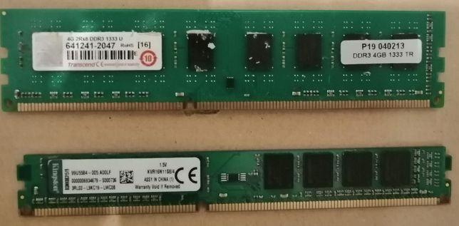 Dimm´s Ram ddr3(4 e 8 gb )