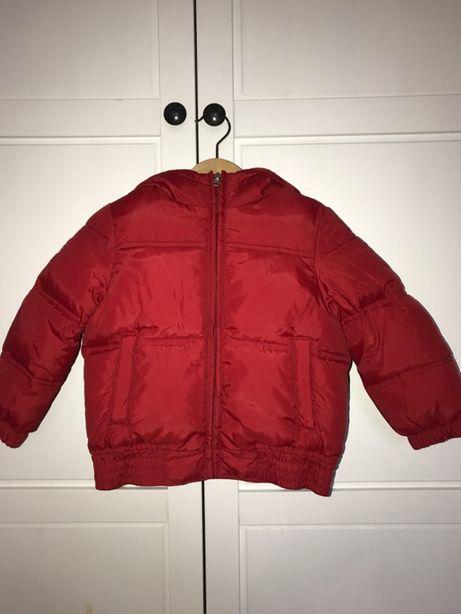 Piękna ciepła puchowa kurtka Benetton 98 cm, 2-3 lata