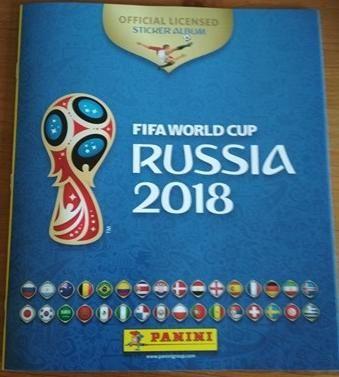 Album Panini Russia 2018 World Cup 670 naklejek