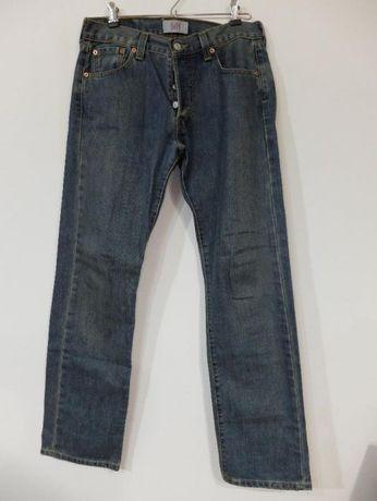 Calças ganga Levi 501 originais com pouco uso W29 L30