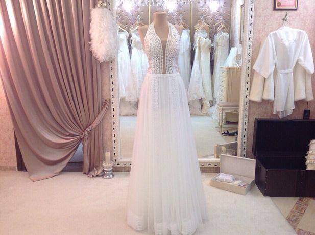 Оригинальное свадебное платье от итальянского бренда ROZY