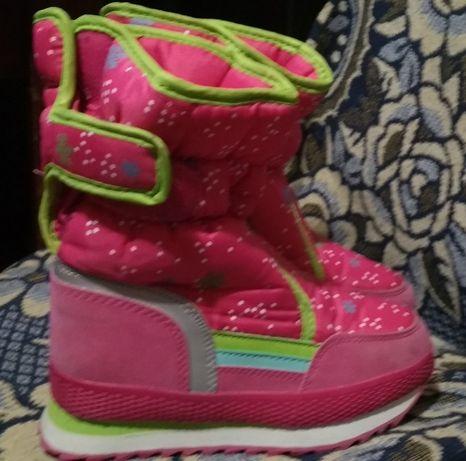 Зимове взуття 32 розмір для дівчинки