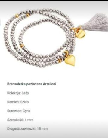 Bransoletka Artelioni