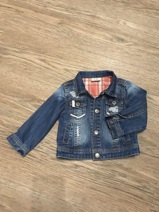 Джинсовая куртка для девочки Алексеевка - изображение 1