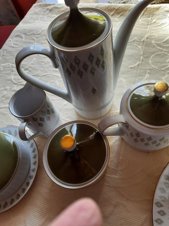 Чайно-кофейный сервиз на 6 персон ГДР