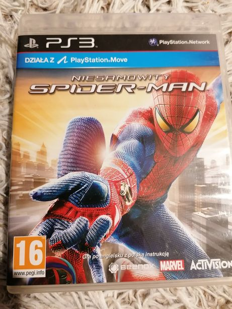 Niesamowity spider man ps3 move
