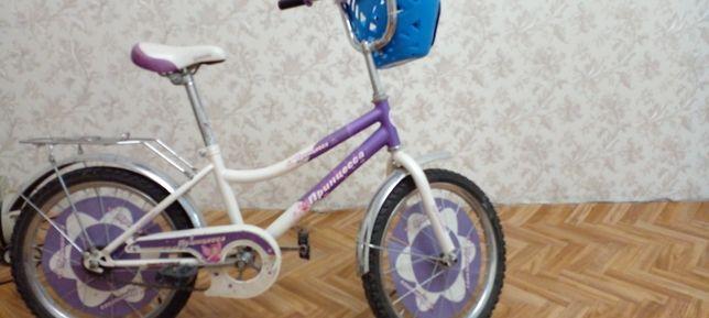 Велосипед для девочек принцесса