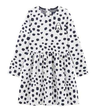 Платье для девочки зима petit bateau