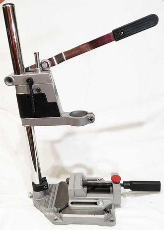 Стійка для дриля та зажимні тиски (стойка для дрели, зажимные тиски)