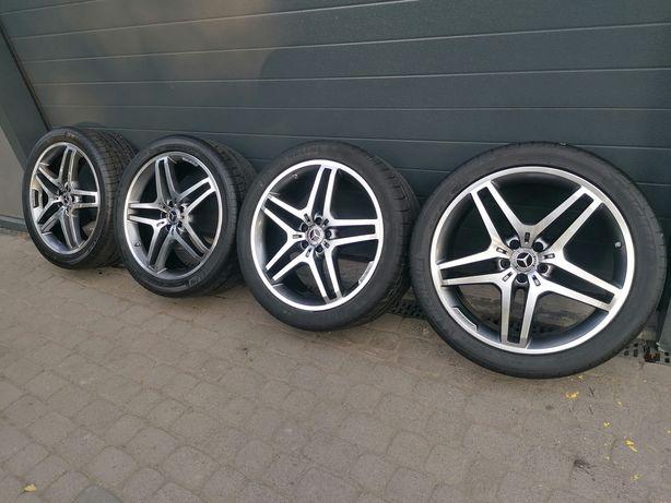 Koła Mercedes 5x112 21 GLE, GLS, ML, AMG 295/35R21  TPMS