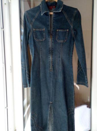 Платье джинсовое