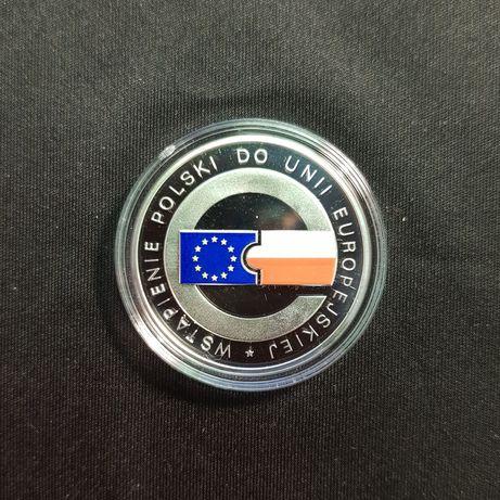 10 zł Wstąpienie Polski do Unii Europejskiej 2004r