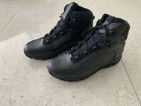 buty Haix Dakota Mid GTX czarne policyjne wojskowe trekking OKAZJA