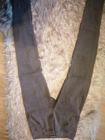 Spodnie dżinsowe rozmiar 36 szare
