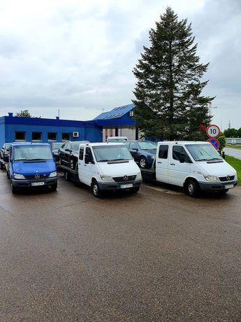 Евакуатор - Автовоз доставка авто з Литви / Польщі на лаветі