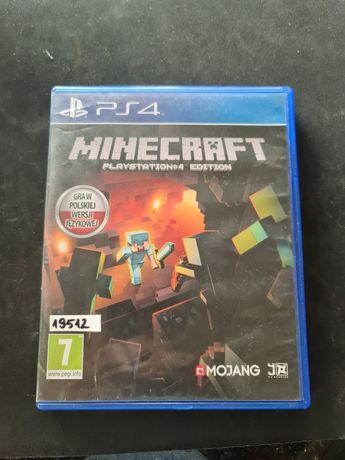 Minecraft Ps4 PL wersja PlayStation Salon Byk