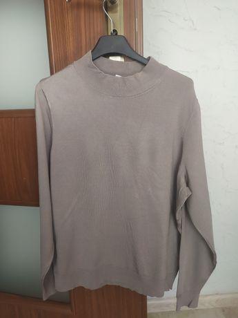 Bluzka jasny stalowy brąz H&M nowa rozmiar L