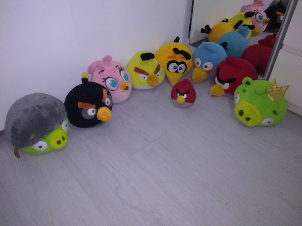 Pack peluches Angry Birds