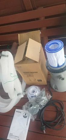 Pompa basenowa filtr basenu nowy bestway flowclear 58383