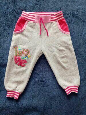 Спортивные штаны, штанишки для девочки на 2-3 года