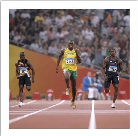 Papel fotográfico Premium - Usain Bolt