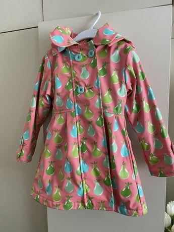 Płaszczyk dla dziewczynki 104-110