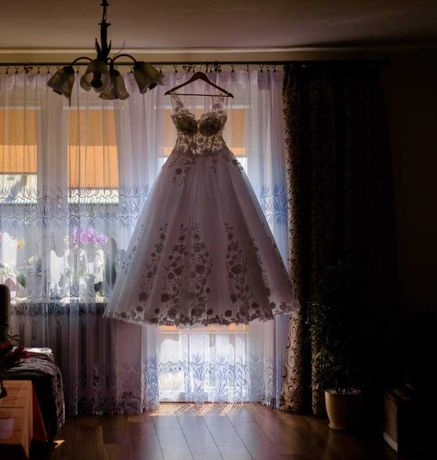 Suknia ślubna + 3 welony + bolerko