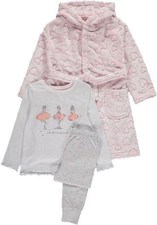 szlafrok i piżama Baletnica 116cm 5-6l