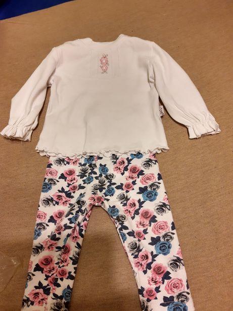 Komplet legginsy+bluzka
