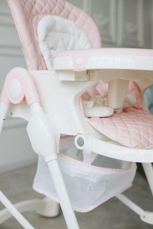 Детский стульчик для кормления Carrello Caramel