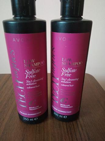 Безсульфатный шампунь-уход для окрашенных и мелированных волос