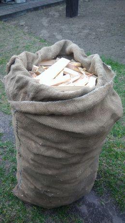 Drewno rozpalkowe sosnowe suche