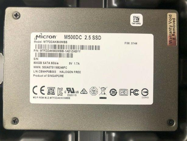 """SSD Micron M500DC 800GB MLC (SATA, 2.5"""", PLP)"""