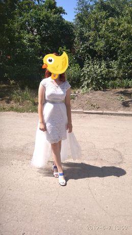 Платье вечернее б/у