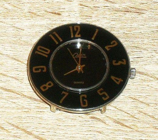 Zegarek naręczny czarny damski QUARTZ Osin De Luxe